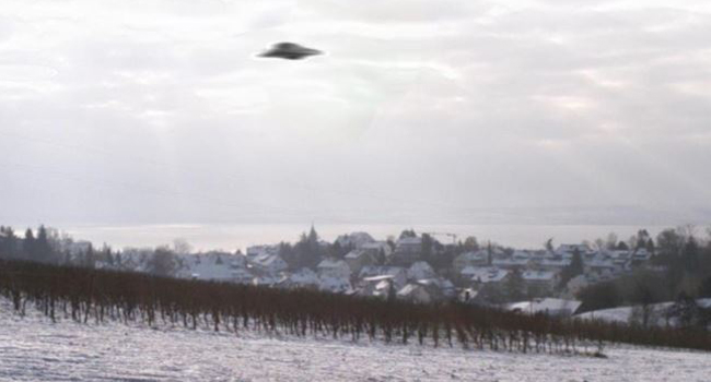 UFO görüntüleri örtbas edilmiş