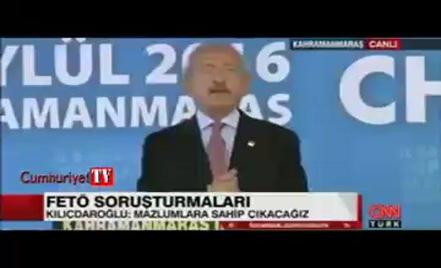 Kılıçdaroğlu 'kandırıldık' diyen Erdoğan'a 2004 tarihli 'Cemaat'i bitirme planı' MGK belgesini gösterdi