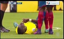 Futbolcunun uyanıklığı polis kandıramadı!