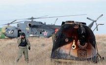 Soyuz uzay aracı Dünya'ya döndü