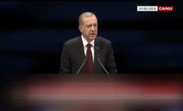 Erdoğan'ın IŞİD demeye dili varmadı