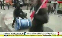 Trump karşıtları çevreye zarar verdi