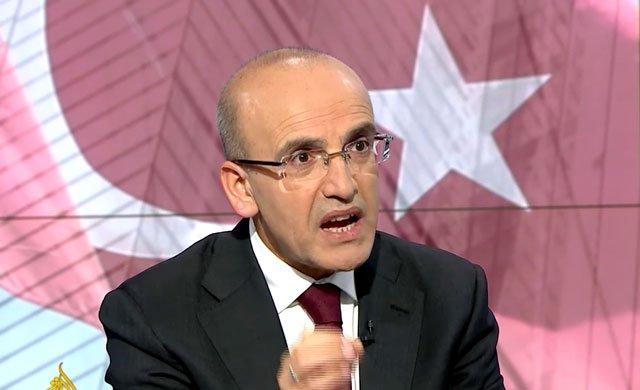 Mehmet Şimşek, El Cezire'de...