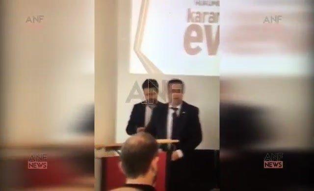 Akp Avusturya Teşkilat Sorumlusu Mahmut Koç'tan iç savaş tehdidi