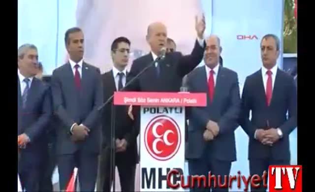 Bahçeli'den Kemal Kılıçdaroğlu'nun 'Bozkurt işareti' yapmasıyla ilgili açıklama