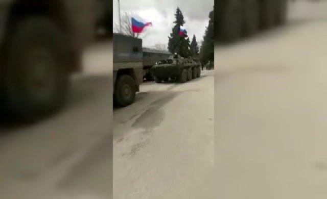 Rusya yalanladı ama görüntüler ortaya çıktı!