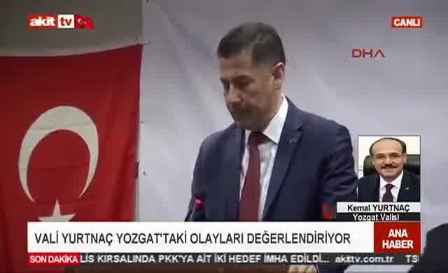 Yozgat Valisi'ndan skandal Sinan Oğan açıklaması!