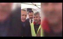 'Hayır' çadırını ziyaret eden Erdoğan sinirlendi