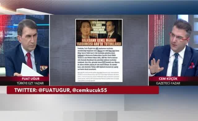 Cem Küçük: Halkbank müdürü yem, 4 bakanı tutuklayacaklar, hedef Erdoğan