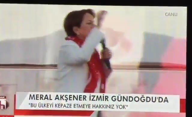Akşener: İzmir'de söylemiştim dün MGK'da karar çıktı