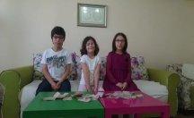 Çocuklar bayram harçlıklarını Türkiye'deki mağdurlara gönderdi