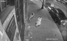Sokak ortasında iki kişiyi gasp ettiler...