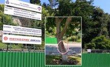 Bebek Aşiyan Parkı kapatıldı, ağaç katliamı için hazırlık tamam!