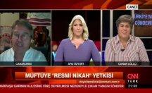Konuk AKP'yi hedef aldı CNN Türk spikeri korkudan dondu