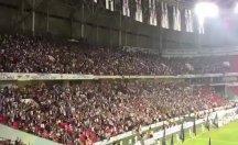 Beşiktaş-Konyaspor maçında marş gerginliği