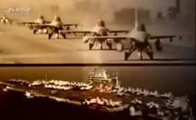 Kuzey Kore, ABD'nin uçak gemisini 'vurdu'