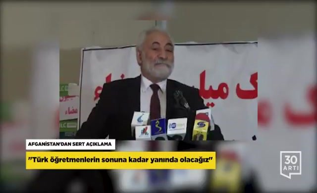 Afgan yetkiliden Türk öğretmenleri karalamaya çalışan AKP'li yetkiliye sert tepki