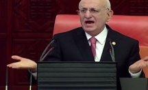 Erdoğan ve Bahçeli Meclis salonunu böyle terk etti