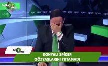 Sunucu Konyaspor ligde kalınca kendini tutamadı