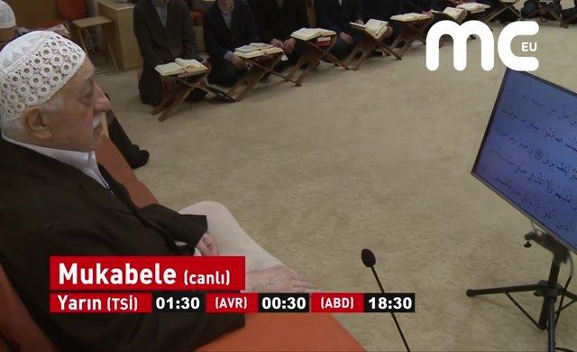 Fethullah Gülen Hocaefendi ile Ramazan mukabelesi bu sene de  Mc Tv'de