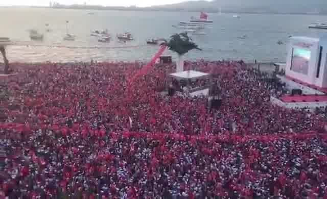 İnce İzmir'de milyonlarca kişiye konuştu