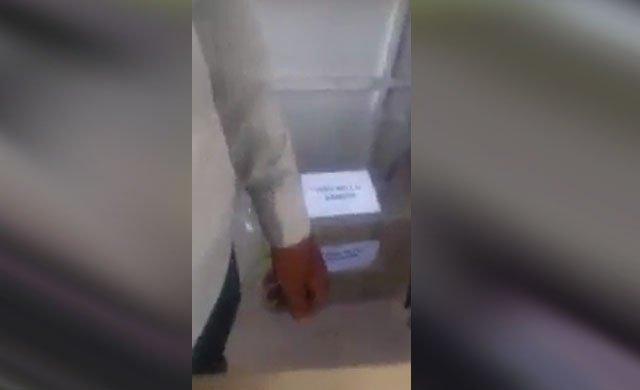 Suruç'ta sandığa fazladan atılan oylar görüntülendi