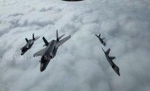 Yeni nesil F-35 ve F-22 uçaklarından it dalaşı