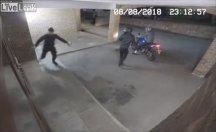 Hırsızlık yaparken bir birilerini yaraladı