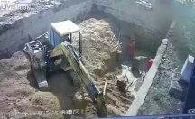 İnşaat işçileri istinaf duvarının altında kaldılar