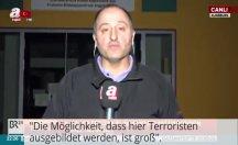Almanya'da kreş önünde 'Burada terörist yetiştiriliyor' diyen A Muhabirine ceza