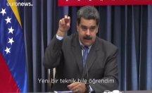Nusret'te yemeği olay olan Maduro hesap soranlarla dalga geçti: Yeni teknik öğrendim
