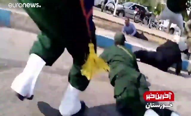 İran'daki saldırının görüntüleri ortaya çıktı