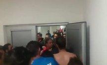 Amedspor'a  soyunma odasında saldırdılar