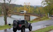 Görenleri şaşkına çeviren köprü