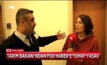 Bakan dediğini yaptı, Fox muhabirini bu kez salondan attırdı