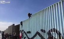 Amerika-Meksika Sınırından ilginç görüntüler