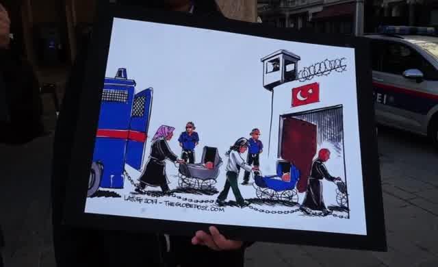 Cezaevindeki bebeklere Viyana'dan destek