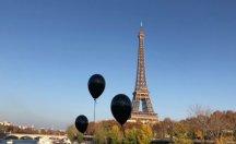 Cezaevlerine atılan bebekler Paris'te protesto edildi