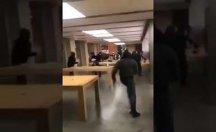 Fransa'da Apple mağazasını talan ettiler