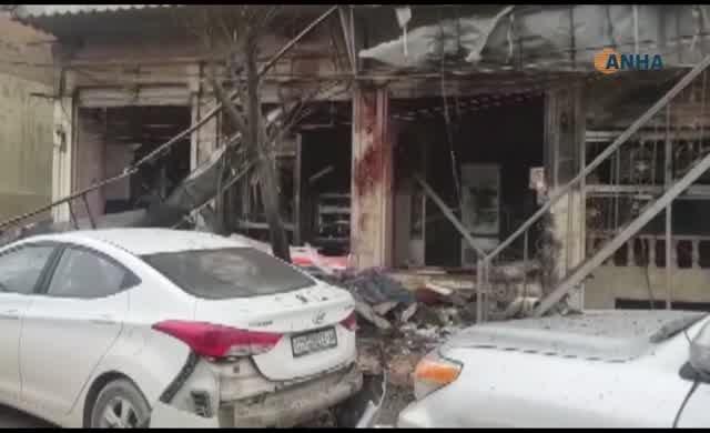 Menbiç'te intihar saldırısı: İki ABD askeri ve 10 sivil öldü