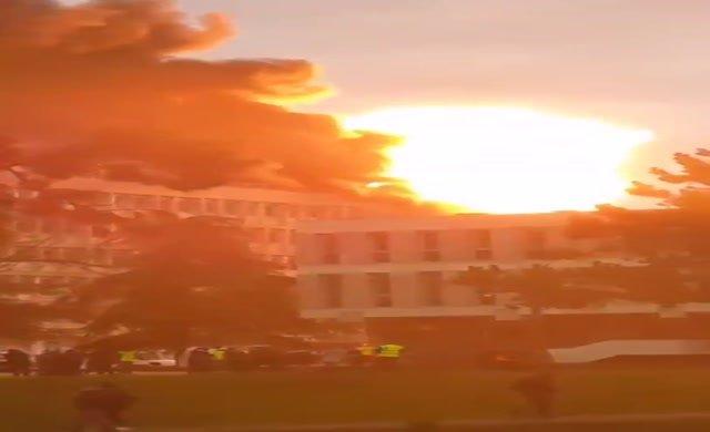 Üniversitede patlama : 3 kişi yaralı