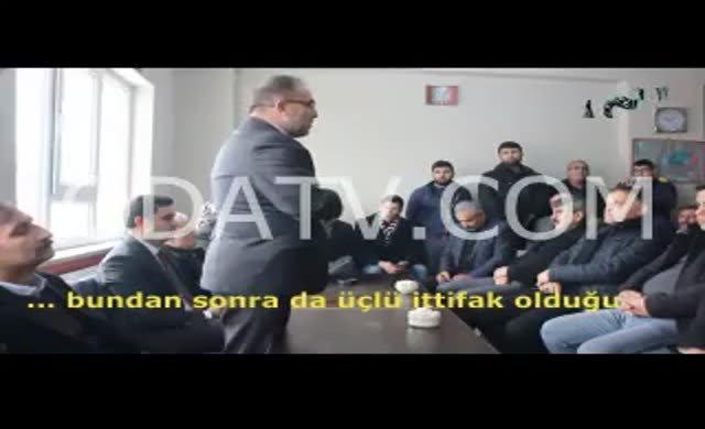 AKP'li Belediye Başkanı: %52'nin altına düşersek bizi kazığa oturturlar