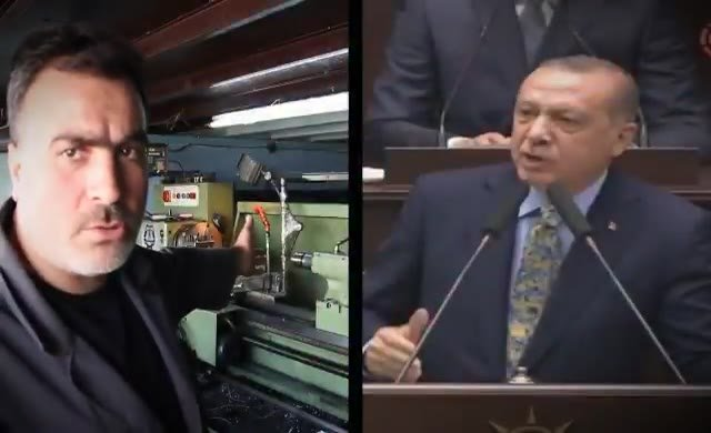 Yaşa takılanlardan Erdoğan videosu