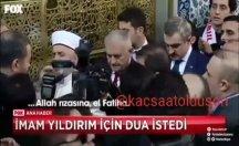 Eyüp Sultan Camii'nde skandal: İmam Binali Yıldırım için cemaate dua ettirdi