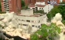 Pablo Escobar'ın evi patlayıcıyla yıkıldı
