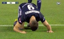 Yeni Zelandalı futbolcudan gol sonrası sembolik secde