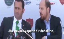 Başkan adayıyla Bilal Erdoğan arasında: Bir iki yer bina olarak aldık mı yeter!