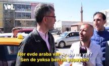 Taksicilerin seçim tartışması sosyal medyada gündem oldu