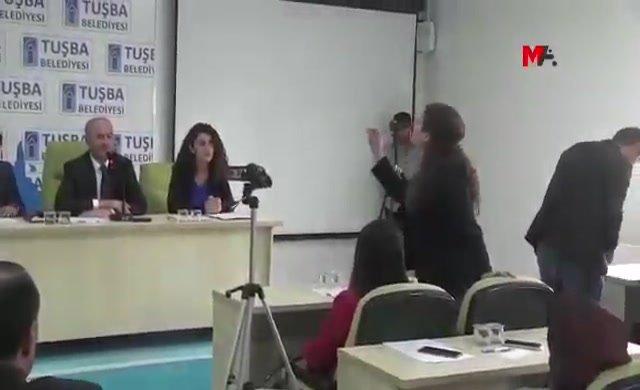 Mazbatasını gasp eden AKP'liye öyle bir tepki gösterdi ki!
