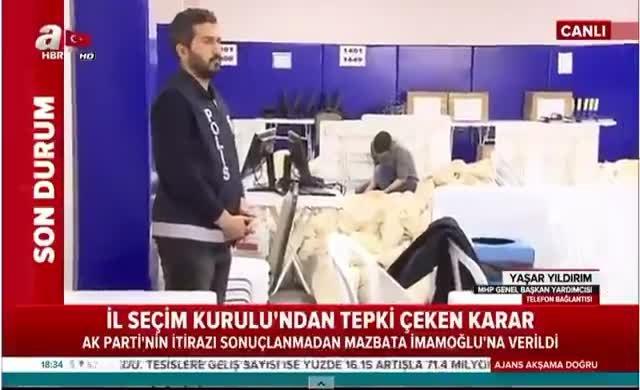MHP yöneticisi: CHP tek adam rejimini devirip demokrasi getirmek istiyor, müsaade edilmemeli